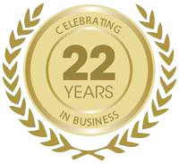 Celebrating 22 Years In Business icon
